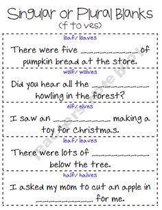 singular or plural blanks - Plural Of Christmas