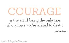 courage #quote