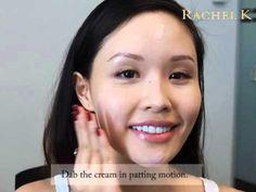 How to Apply CC Cream - Rachel K Tutorial - YouTube