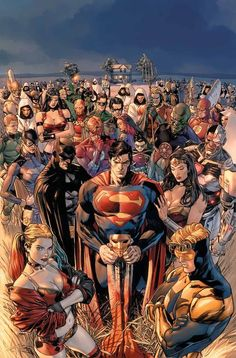 There's a new kind of crisis threatening the heroes of the DC Universe, ripped from real-world headlines by C.-operative-turned-comics-writer Tom King: How does a superhero handle PTSD? HEROES IN CRISIS (OF Marvel Dc Comics, Math Comics, Dc Comics Art, Dc Comics Superheroes, Dc Heroes, Comic Book Heroes, Comic Books Art, Comic Art, Superman