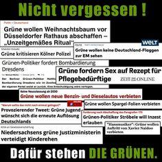 Grüne Totengräber Deutschlands - Volksverräter
