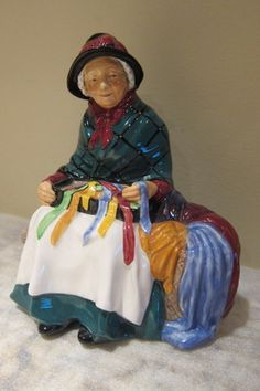 Silks and Ribbons Royal Doulton Figurine | eBay