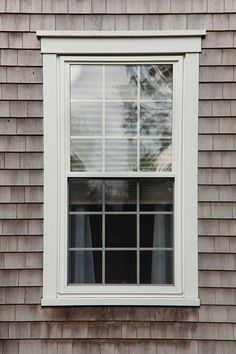 Exterior Window Molding, Vinyl Window Trim, Window Molding Trim, Craftsman Window Trim, Exterior Trim, Moldings And Trim, Exterior Windows, Vinyl Windows, Front Windows
