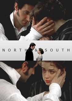North & South directed by Brian Percival (TV, Mini-Series, BBC, Elizabeth Gaskell, Period Drama Movies, Period Dramas, Darcy Pride And Prejudice, North And South, Jane Austen Movies, John Thornton, Romantic Period, Look Back At Me