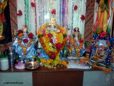 Photographs of Datta Jayanti Celebrations Datta Jayanti is birth anniversary of Lord Dattatreaya who is incarnation of Lord Vishnu. Lord Vishnu, Small Moments, Temples, Mother Nature, Worship, Birth, Celebrations, Vibrant, Photographs
