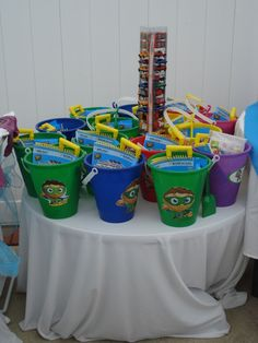 super why! Birthday Party Ideas | Photo 17 of 102 | Catch My Party