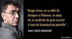Vino y girasoles...: Vargas Llosa... funambulista pantuflo.