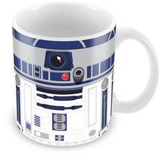 Caneca Personalizada Star Wars R2-D2 Minimalista
