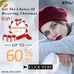 MakeUp Fun: ZNU Christmas Big Sale
