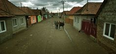 Google Street View. Prejmer, Romania.