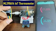 Arduino Sensors, Bill Of Materials, Token, Visible Spectrum, Iot Projects, Electromagnetic Radiation, Wifi Password, Infrared Thermometer, Display Screen