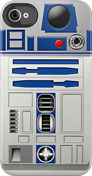I just might succumb to buying an iphone so that I may have this Rad case! R2D2 Robot iPhone case