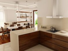Home Design Floor Plans, Kitchen Remodel, Kitchen Design, House Design, Flooring, Dining, Furniture, Kitchen Inspiration, Home Decor