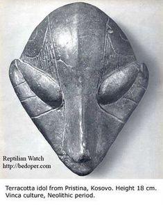 terracotta idol-kosovo-neolithic period