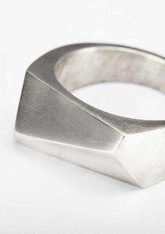 Kester Black stirling silver ring