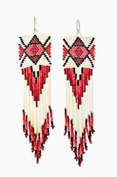 Jacque Aiche Diamond Square Native Earrings