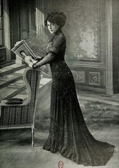 robe daprès-midi 1909 by .pintuck, via Flickr