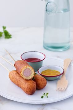 Hoy os proponemos los famosos Corn Dogs de la mano de Food Cook. Una receta irresistible! www.came3.com #cocina #recetas #came3 #comida #ideas #reformas