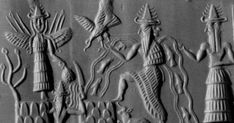 The Sumerian religion was polytheistic in nature, and the Sumerians worshipped a great number of deities. These deities were anthropomorphic beings, and were meant to represent the natural forces of t