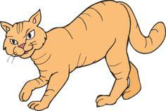 Stalking Cat clip art - vector clip art online, royalty free & public domain