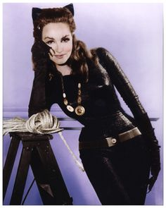Original Catwoman Julie Newmar Talks Old Hollywood and Why She's Glad It's Changing Batman 1966, Batman And Catwoman, Batman And Superman, Batman Robin, Cosplay Gatúbela, Catwoman Cosplay, Cosplay Costumes, Halloween Costumes, Cosplay Ideas