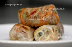 PrzepisAli na sajgonki. Fresh Rolls, Soups, Appetizers, Drinks, Ethnic Recipes, Food, Snacks, Meal, Appetizer