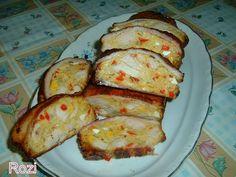 Rozi erdélyi,székely konyhája: Mozaikos csirkemell