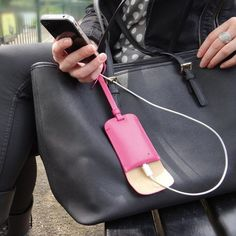 Bag Tag Smartphone Charger - $40