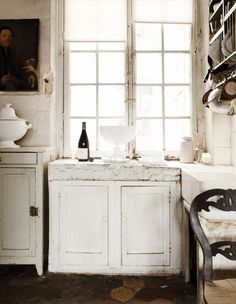 Tour the Stunning Home of Astier de Villatte's Designers via @domainehome