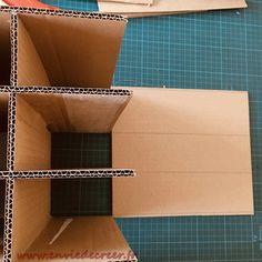 Cardboard Paper, Cardboard Crafts, Felt Crafts, Carton Diy, Diy Adult, Crafty, Kombucha, Origami, Crochet