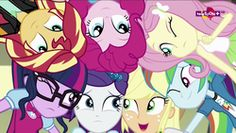 Size: 1920x1080 | Tagged: applejack, cute, dance magic, dashabetes, diapinkes, equestria girls, fluttershy, humane five, humane seven, humane six, jackabetes, pinkie pie, rainbow dash, raribetes, rarity, safe, sci-twi, screencap, shimmerbetes, shyabetes, spoiler:eqg specials, sunset shimmer, teletoon, twiabetes, twilight sparkle