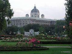 Volksgarten in Vienna, Austria