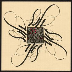 Carol DuBosch (The Passionate Pen 2015 Calligraphy Conference) YES