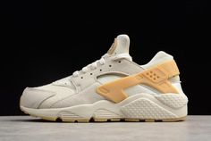 18e061769ac7 Nike Air Huarache Run SE Phantom Gum Yellow-Light Bone 852628-004