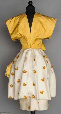Kimono Styled Party Dress, 1950s, Augusta Auctions, November 11, 2015 NYC