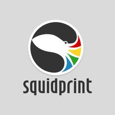 squidprint #logo #design