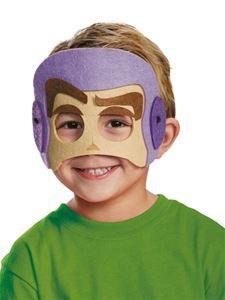 Buzz Lightyear Felt Child Mask - 355696 | trendyhalloween.com #halloweenmasks