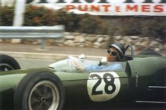 Jim Clark, Lotus-Climax 21, 1961 Monaco Grand Prix