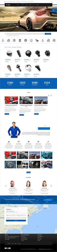 Gear is unique and modern design responsive #WordPress theme for #Auto and moto technology, #sale of spare parts of cars eCommerce websites download now➩ https://themeforest.net/item/gear-automotive-businessauto-parts-store-responsive-wordpress-theme/17327585?ref=Datasata
