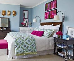 The Appealing Purple And Blue Bedroom Color Schemes and Bedroom Colors 88633 is among images of decorating concepts for your residence.