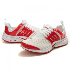 Women's Nike Air Presto 2 Carving Running Shoes-Red White