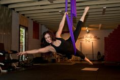Aerial Yoga - This fascinating yoga style uses hanging silks to combine familiar yoga poses with aerial moves. Sessions are typically gentle and aim to increase flexibility and deepen relaxation.