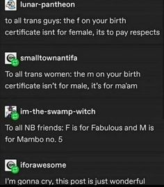 Lesbian, Gay, Birth Certificate, Transgender, Life Quotes, Memes, Equality, Funny, Posts