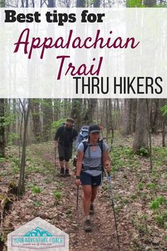 Thru hiking, or even long ass section hiking, the Appalachian Trail can seem like a huge undertaking. But that doesn't mean it's impossible, and it definitely doesn't have to sit on Thru Hiking, Hiking Tips, Camping And Hiking, Camping With Kids, Backpacking Checklist, Camping 101, Bushcraft Camping, Appalachian Trail, Backpacking Trails