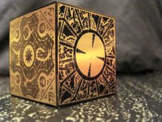 Lemarchand's puzzle box. Lament box from Clive Barker's Hellraiser.