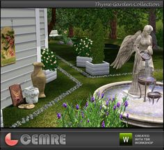 Thyme Garden Collection by Cemre for TheSimsResource  Found in TSR Category 'Sims 3 Garden Sets'