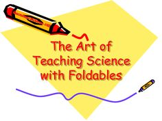 teach science with foldables