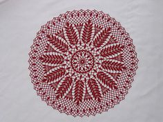 Wheat & Grape Doily pattern by American Thread Company - EarthPin Doily Patterns, Crochet Patterns, American Threads, Vintage Crochet, Crochet Doilies, Cotton Thread, Crochet Projects, Tatting, Free Pattern