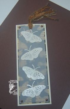 Lace Butterfly Bookmark