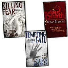 Allison Brennan Prison Break Trilogy 3 Books Collection Pack Set
